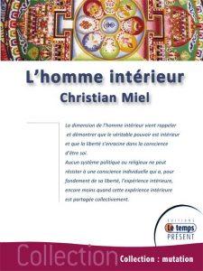 3eme Livre -Couverture L' HOMME INTERIEUR