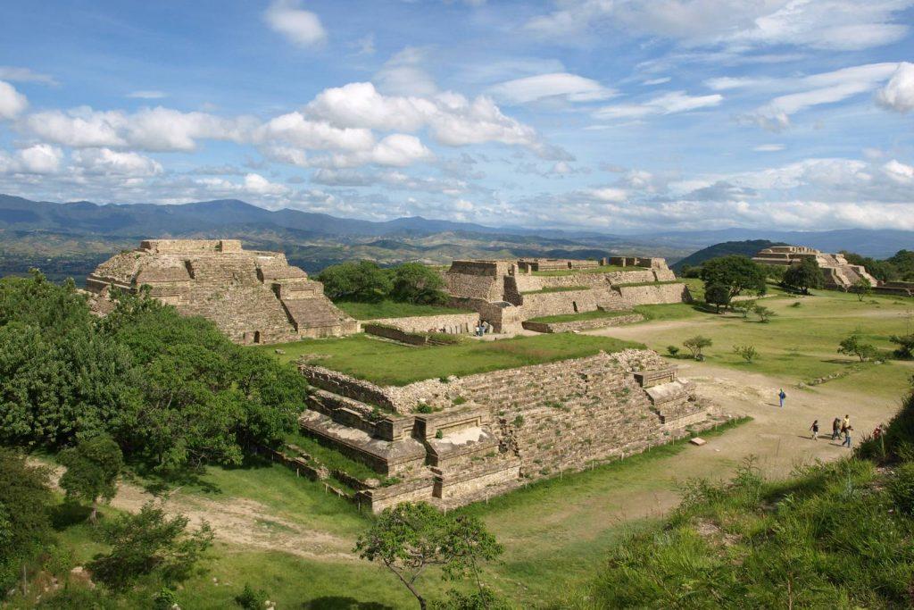 L'origine des vestiges pré-incas, olmèques et zapotèques