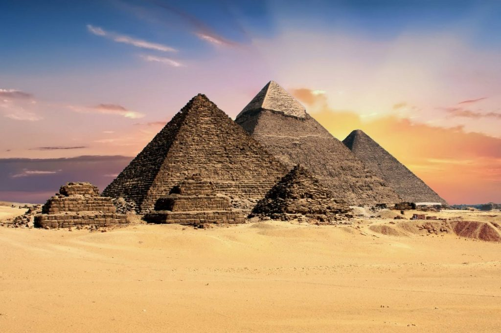 LES PYRAMIDES EN EGYPTE - La construction