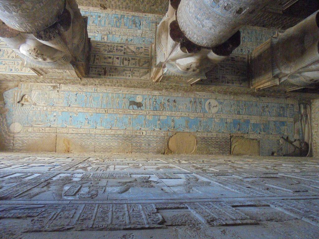 Le temple de Dendérah - Christian MIEL